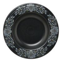 Fiesta® Skull and Vine Pasta Bowl in Black