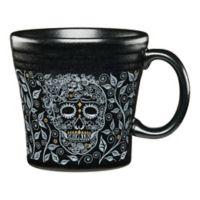 Fiesta® Skull and Vine Tapered Mug in Black