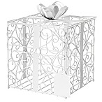 Cathy's Concepts Reception Card Holder in White