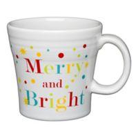 Fiesta® Merry Bright Tapered Mug in White