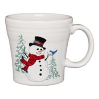 Fiesta® Snowman Tapered Mug in White