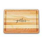 Carved Solutions Gather Master Collection 10-Inch x 14-1/2-Inch Medium Cutting Board