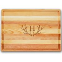 Carved Solutions Antler Master Collection 14-1/2-Inch x 20-Inch Large Cutting Board
