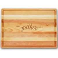 Carved Solutions Gather Master Collection 14-1/2-Inch x 20-Inch Large Cutting Board