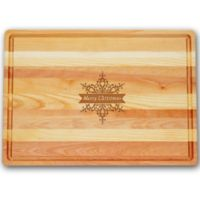 """Carved Solutions Master Collection """"Merry Christmas"""" Star 20-Inch x 14-1/2 Inch Cutting Board"""