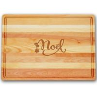 Carved Solutions Master Collection Noel 20-Inch x 14-1/2 Inch Cutting Board