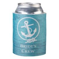 "Lillian Rose™ ""Bride's Crew"" Cup Cozy in Aqua"