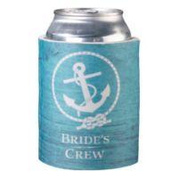 """Lillian Rose™ """"Bride's Crew"""" Cup Cozy in Aqua"""
