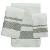 Buy Decorative Grey Towels Bed Bath Beyond