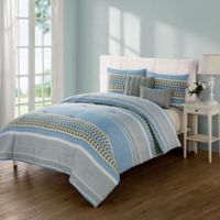VCNY Home Marcus 5-Piece King Comforter Set in Blue