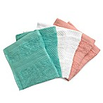 Benzoyl Peroxide-Resistant and Bleach-Friendly 6-Pack Washcloths in Bright/Multi