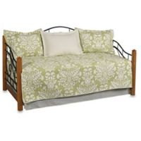 Laura Ashley® Rowland Daybed Quilt Set in Light Green