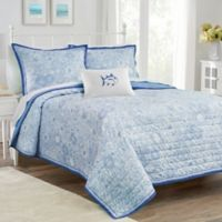 Southern Tide® Seapine Reversible Twin Quilt in Sky Blue