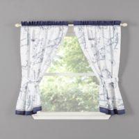 Cape Island Window Curtain Panel Pair