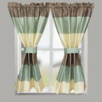 Croscill® Fairfax 64-Inch Rod Pocket Window Curtain Panel in Taupe