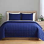 Clairebella Reversible King Coverlet Set in Moonlight