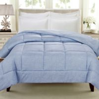 Cathay Home Down Alternative Queen Comforter in Light Indigo