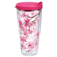 Tervis® Japanese Cherry Blossom 24 oz. Wrap Tumbler with Lid