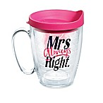 Tervis® Mrs. Always Right Heart 16 oz. Mug with Lid