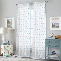 Zuma 108-Inch Rod Pocket Window Curtain Panel in Blush