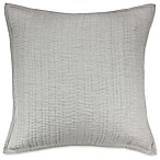Kenneth Cole New York Dovetail European Pillow Sham in Grey