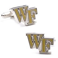 Wake Forest University Silver-Plated and Enamel Team Logo Cufflinks
