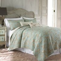 Levtex Home Layn Reversible King Quilt Set in Teal