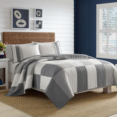 Nautica® Calvert Full/Queen Quilt In Grey