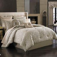 J. Queen New York Astoria King Comforter Set in Sand