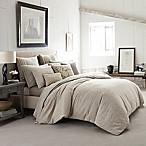 Ed Ellen DeGeneres Mosaic Tile King Comforter Set in Light Beige
