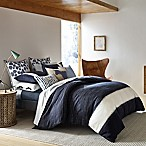 ED Ellen DeGeneres Bleu Full/Queen Comforter Set in Navy