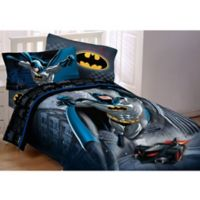 DC Comics™ Batman Guardian Speed 4-Piece Twin Comforter Set in Black/Blue