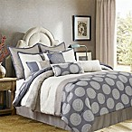 Nanshing Dante 10-Piece Reversible King Comforter Set in Beige/Grey