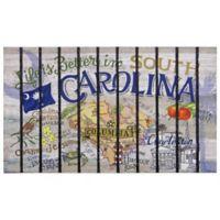 """Life is Better in South Carolina"" 30-Inch x 18-Inch Door Mat"