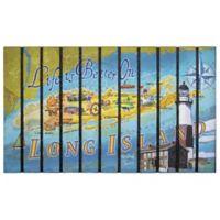 """""""Life is Better in Long Island"""" 30-Inch x 18-Inch Door Mat"""