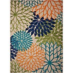 Nourison Aloha 3'6 x 5'6 Indoor/Outdoor Multicolor Area Rug