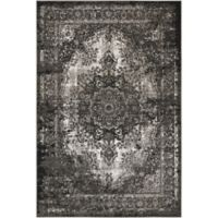 Nourison Aria 3-Foot 11-Inch x 5-Foot 11-Inch Area Rug in Charcoal