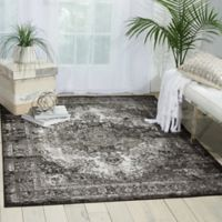 Nourison Aria 5-Foot 3-Inch x 7-Foot 3-Inch Area Rug in Charcoal