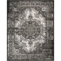 Nourison Aria 7-Foot 10-Inch x 10-Foot 10-Inch Area Rug in Charcoal