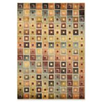 Nourisan Aristo Multicolor Tile 5-Foot 3-Inch x 7-Foot 5-Inch Area Rug
