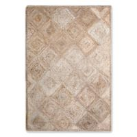 Jute Diamond 5-Foot x 7-Foot Area Rug in Natural
