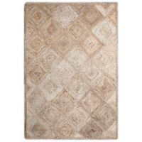 Jute Diamond 8-Foot x 10-Foot Area Rug in Natural