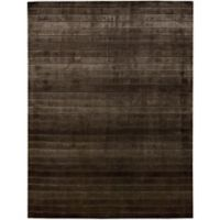 Nourison Aura 4-Foot x 6-Foot Area Rug in Chocolate