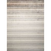 Nourison Aura 4-Foot x 6-Foot Area Rug in Silver Shadow