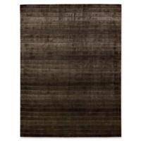 Nourison Aura 5-Foot 6-inch x 7-Foot 5-Inch Area Rug in Chocolate