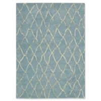 Barclay Butera Intermix Wave 5-Foot 3-Inch x 7-Foot 7-Inch Area Rug in Blue