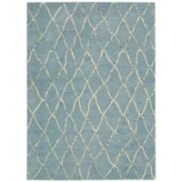 Barclay Butera Intermix Wave 7-Foot 9-Inch x 10-Foot 10-Inch Area Rug in Blue
