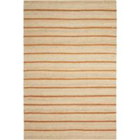 Kathy Ireland® Home Paradise Garden Tropical 2-Foot 6-Inch x 4-Foot Accent Rug in Orange