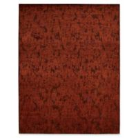 Nourison Nightfall 5-Foot 6-Inch x 8-Foot Area Rug in Brick