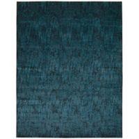 Nourison Nightfall 7-Foot 9-Inch x 9-Foot 9-Inch Area Rug in Dark Blue